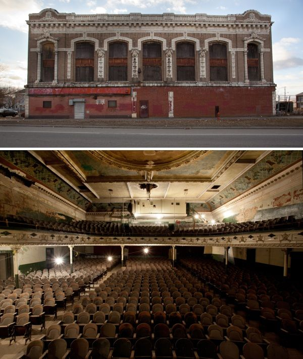29 Abandoned Music Halls, Ballrooms, Theatres and Movie Palaces (Part Two)
