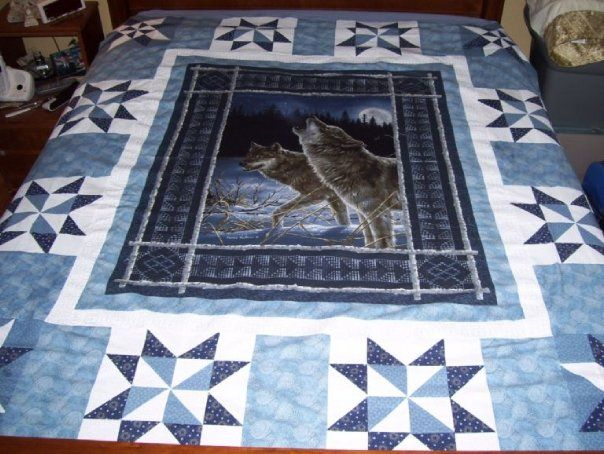Wolf Panel Qulit_vpx=GxM8fd5m0kgj; - via @Craftsy My don, Howard ... : quilt patterns with panels - Adamdwight.com