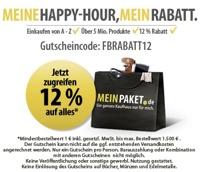 12% MeinPaket Gutschein *UPDATE2*