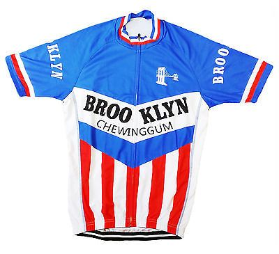 #Brooklyn #retro vintage #cycling team bike jersey ,  View more on the LINK: 	http://www.zeppy.io/product/gb/2/371415615106/