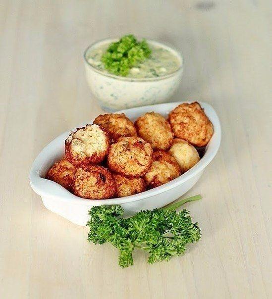 Фото к рецепту: Картофельные шарики