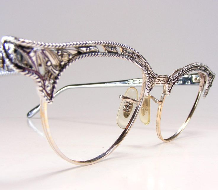 Eyeglass Frame Jewelry : ANTIQUE SILVER EYEGLASSES - Antique Scrimshaw and more at ...
