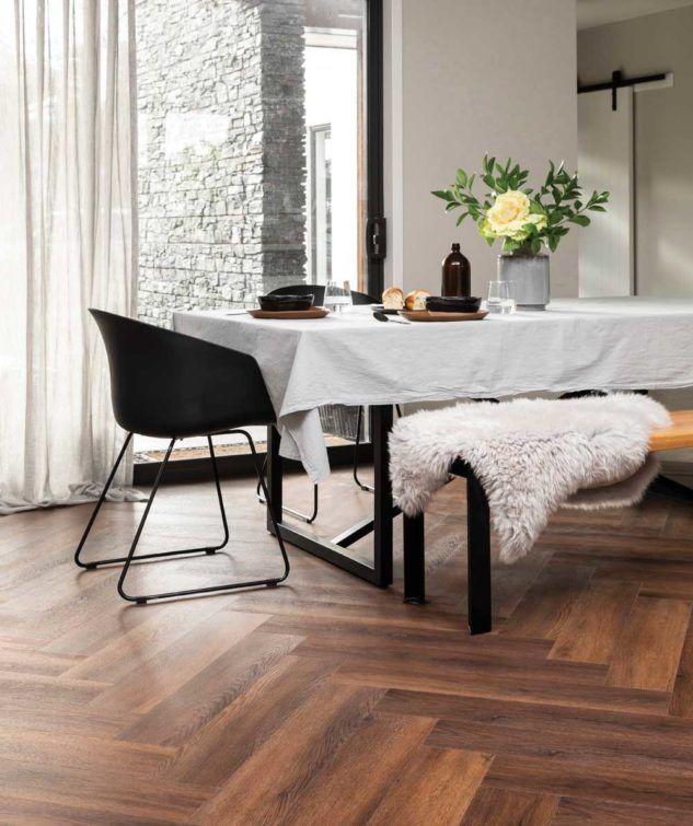 Rhino Evercore Herringbone Rigid Composite Flooring In 2020 Composite Flooring Kitchen Design Small Durable Flooring