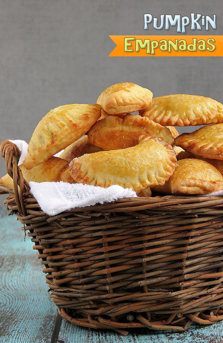 Delicious Pumpkin Empanadas | YummyAddiction.com