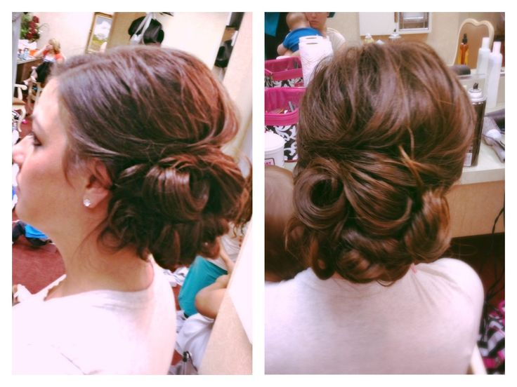 Astonishing 1000 Images About Prom Bun Hair Ideas On Pinterest Updo Hairstyles For Women Draintrainus