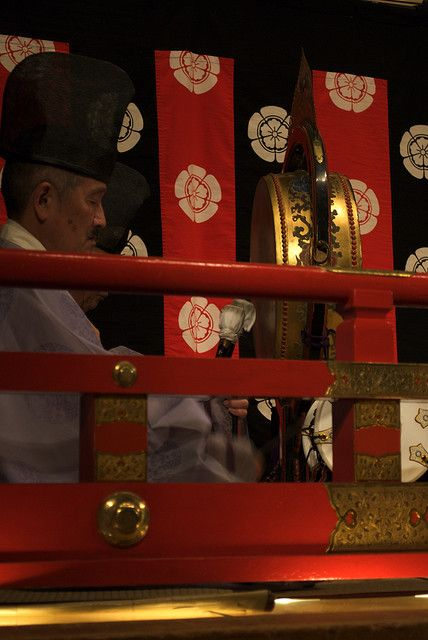雅楽 (Gagaku court music performance), Gion, Kyoto