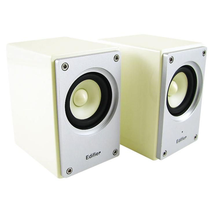 Edifier MP210: Caixa de Som de Alta Fidelidade Hi-FI 6W RMS c/ Blindagem Magnética