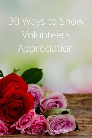 Showing appreciation is part of volunteer management. Volunteers give of their time freely but keeping volunteers motivated is what appreciation if all about.