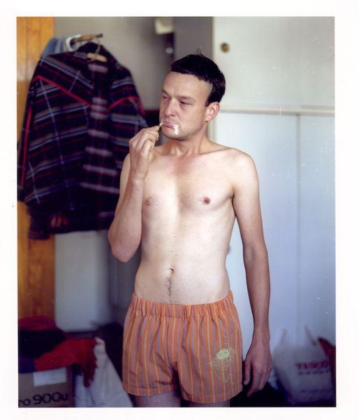 2005 photo: Jiří Thýn illustration: Maestrokatastrof, Czech fashion, menswear, shorts