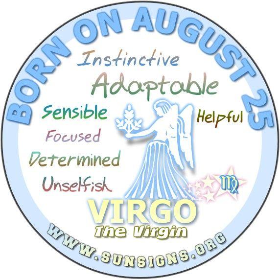 August 25 Birthday Horoscope Personality