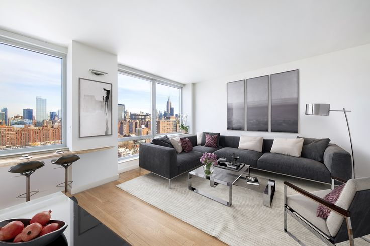 Magnificent High Floor Views  ...   450 West 17th Street 2401, Chelsea, NYC, Represented exclusively by Lisa Rose and Jackie Siegel. See more eye candy on this home at http://www.halstead.com/16465918