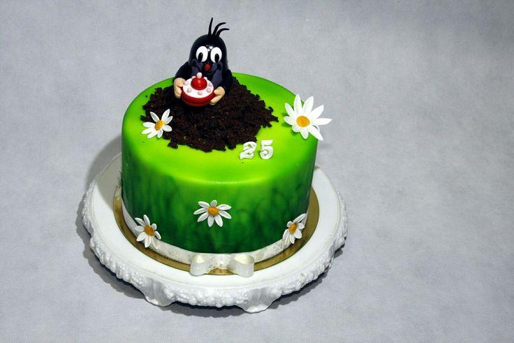 The little mole kids birthday cake