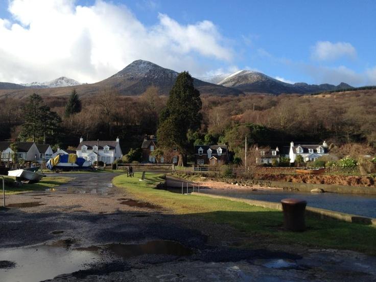 Corrie, Isle of Arran, by David Kelso