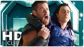 Thor: Ragnarok FINAL BATTLE - All Fight Scenes Compilation (From Movie Clips & Trailers)