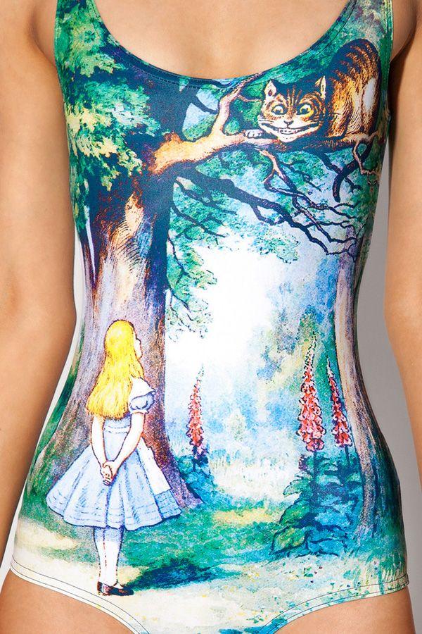 Alice wonderland swimsuit