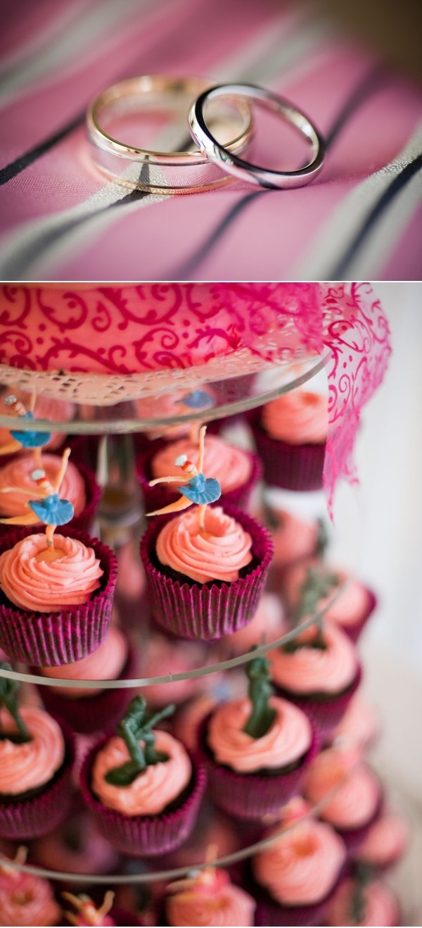 ballerina and soldier cupcake toppers. love love love this