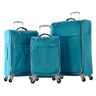 Olympia 'Swift' 3-Piece Expandable Spinner Lightweight Luggage Set | Overstock.com Shopping - The Best Deals on Three-piece Sets
