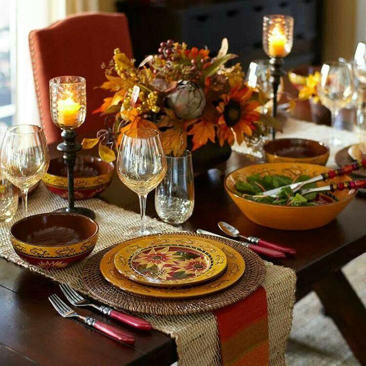 elegant table setting pier 1 thanksgiving dinnerwarethanksgiving - Thanksgiving Table Settings Pinterest