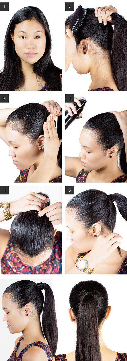 16 erstaunliche Frisur DIY Ideen für faule Mädchen, bereit für weniger als eine Minute