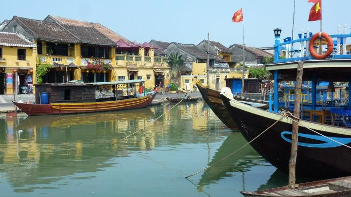 On the rivers of Hoi An | 2014 Trip Around The World | Off Exploring