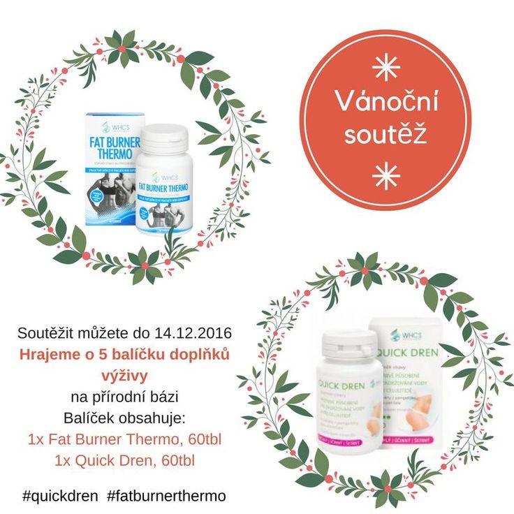 Soutěž probíhá na www.facebook.com/lekarnaproradost  Milí fanoušci, je tu opět vánoční #soutěž o doplňky výživy, které pro Vás s láskou a pečlivostí vyrábíme. Od dnešního dne až do 14.12. můžete soutěžit o balíček produktů Quick Dren 60tbl. a Fat Burner Thermo 60tbl. Po vánocích přijdou vhod :) BUDE 5 VÝHERCŮ  #quickdren #fatburnerthermo #soutěž #lekarnaproradost #whcs #doplnkystravy #přírodní #zdravé #hubnutí #dárek