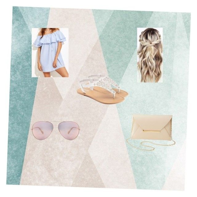 Summer outfit☀️ by minhkhanhvu on Polyvore featuring polyvore, moda, style, SONOMA Goods for Life, Charlotte Russe, Sandberg Furniture, fashion and clothing
