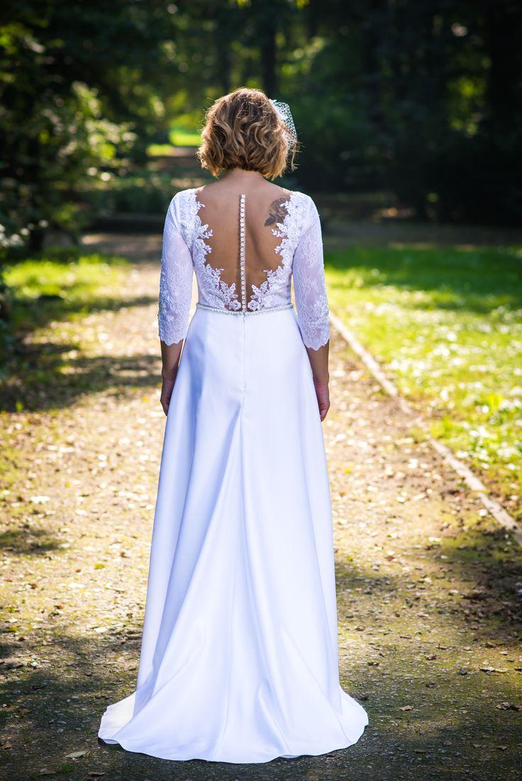 Biała sukienka ślubna 2017 / white wedding dress 2017