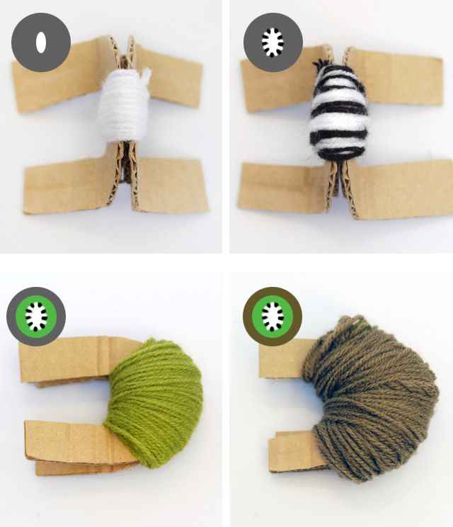 kiwi-pompom-step-by-step.jpg (640×744)