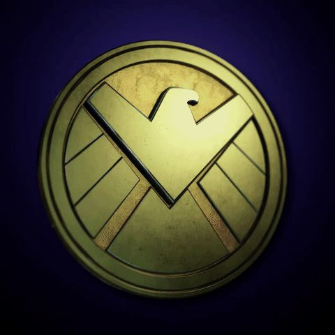 'S.H.I.E.L.D.' logo changing to 'Hydra' logo on 'Marvel's: Agents of S.H.I.E.L.D.'