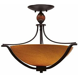 @Overstock - Halogen VI 3 light Flush in Oil Rubbed Bronze with Amber Hand-blown Art glasshttp://www.overstock.com/Home-Garden/Triarch-International-Halogen-VI-3-light-Oil-Rubbed-Bronze-Flush-Mount/6414917/product.html?CID=214117 Add to cart to see special price