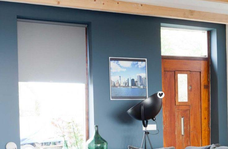 GEZIEN BIJ VTWONEN - afl. 4. Muurverf HISTOR The Color Collection - kleur Yippee blue. Verkrijgbaar bij Deco Home Bos in Boxmeer. www.decohomebos.nl