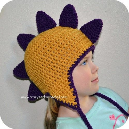 Best 25+ Crochet Dinosaur Hat Ideas On Pinterest