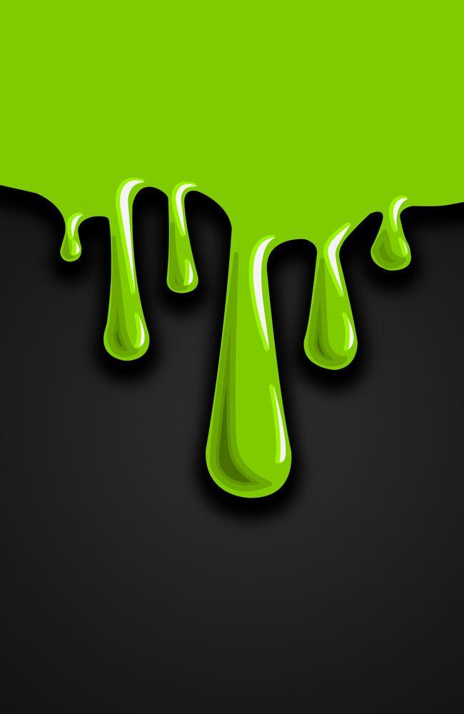 Slime Painting : slime, painting, Dripping, Slime, (Green), Print, Nicholas, X-Small, Green, Print,, Paint