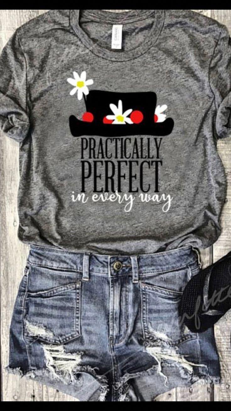 0df0fb0f4 Mary Poppins - Practically Perfect in Every Way T-Shirt #disney  #disneystyle #disneyfashion