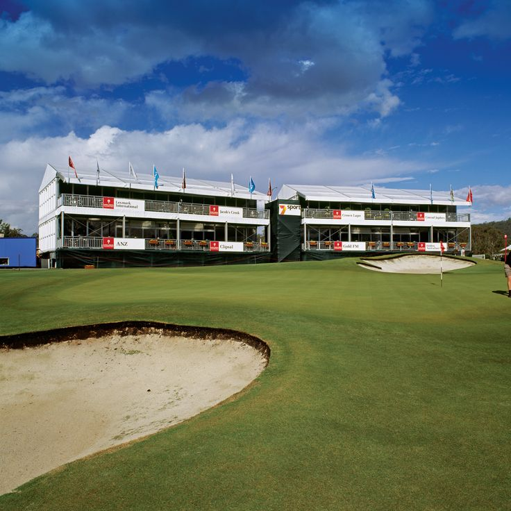Two Storey Marquee Event for Australian Golf