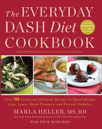 Everyday DASH Diet Cookbook. We use this almost everyday!