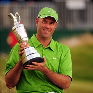 Stewart Cink, professional golfer, was born in Huntsville, Alabama and grew up in nearby Florence, AL.