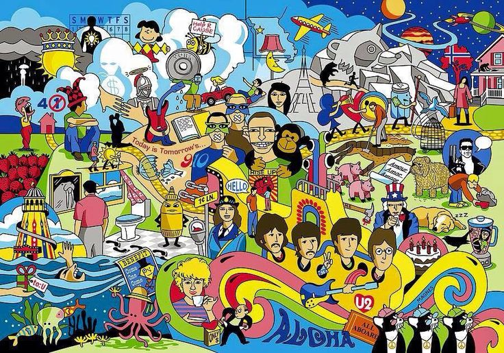 Beatles Seek Amp Find How Many Can You Find The Beatles
