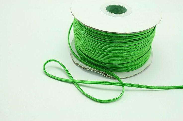 Sznurek sutasz chiński, tzw. chińczyk, 100% nylon, szer. ok. 3 mm. #chinese #soutache #sutasz #chiński