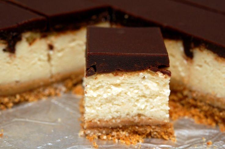 Dulce De Leche Cheesecake Bars, Mexican Dessert   Top & Popular Pinterest Recipes