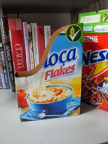 Re-purposing the Cereal Box - a  number of ideas