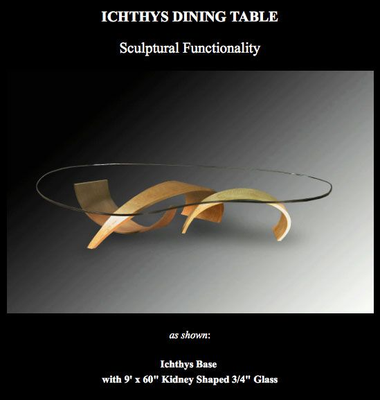 My Ichthys Dining Table is available once again