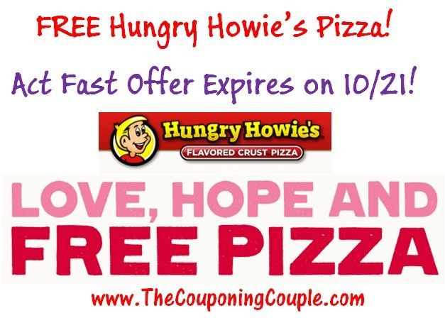 Hungry howie's pizza coupons