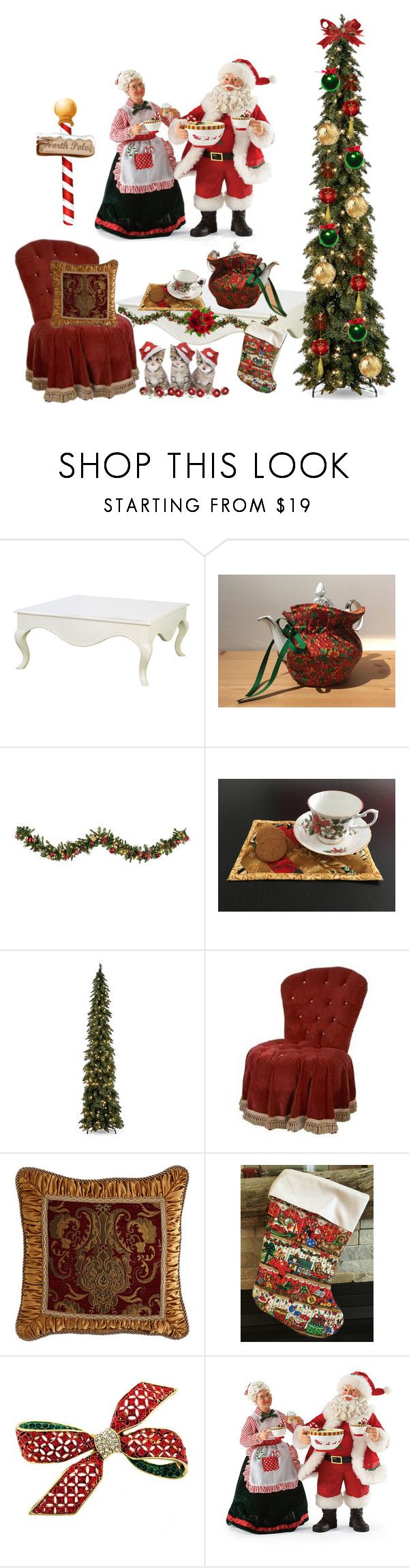 Handmade Christmas Tea Cozy by bamasbabes on Polyvore featuring Improvements, Jayson Home and Austin Horn