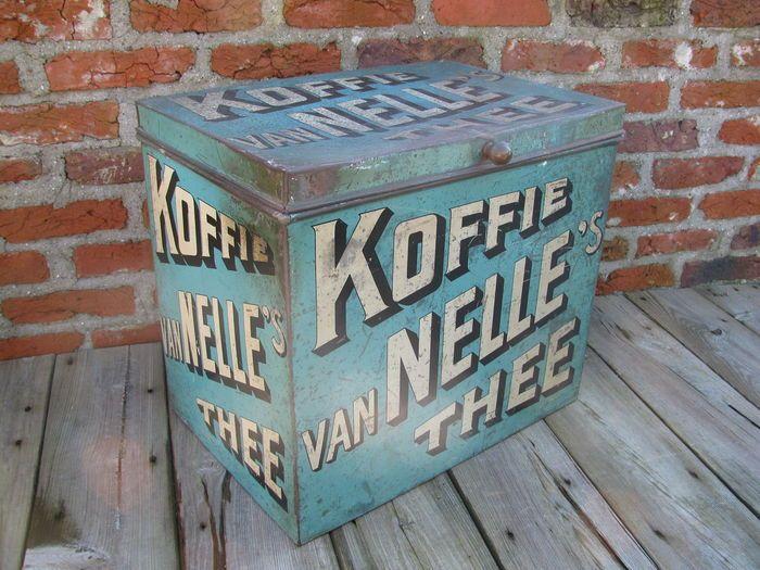 Online veilinghuis Catawiki: XL van Nelle, koffie /thee blik - 1920/30