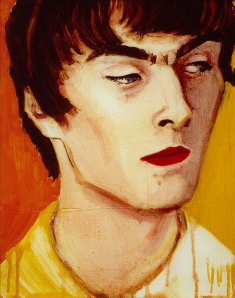 love this portrait by Elizabeth Peyton