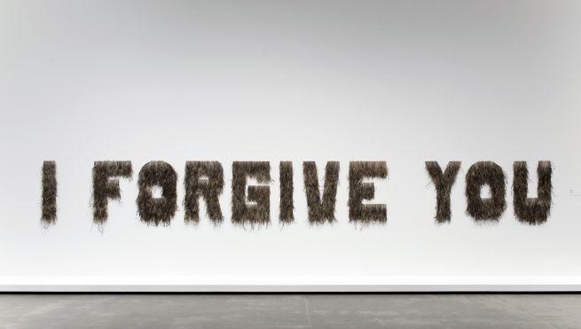 Bindi Cole (VIC b.1975) Wathaurung people 'I forgive you' 2012