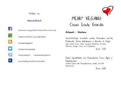 Menù Vegano http://casalady.blogspot.it/2015/01/buon-2015-e-menu-vegano.html