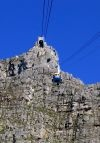 The cable car to the top of Table Mountain