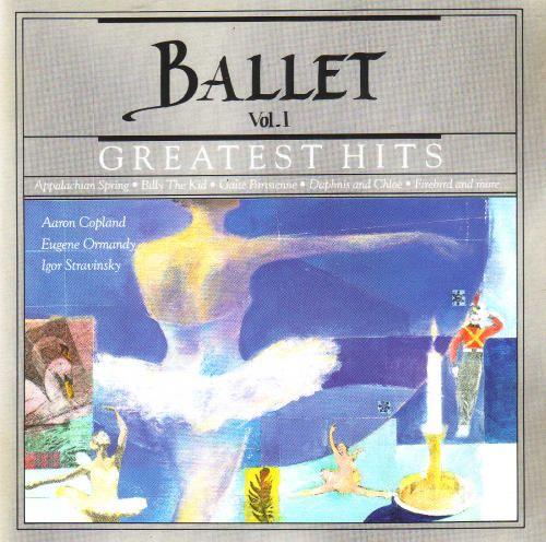 1990 Ballet Greatest Hits Vol. I (CBS Masterworks) [CBS MLK45658 / 074644565829] cover illustration by Michael Ng #albumcover